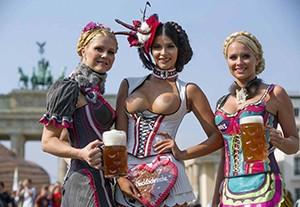 Берлин. Фестиваль пива