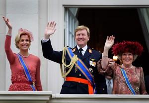 День короля и королевы в Амстердаме